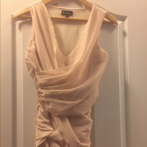 Bebe body  icon Grecian style dress xs fitted